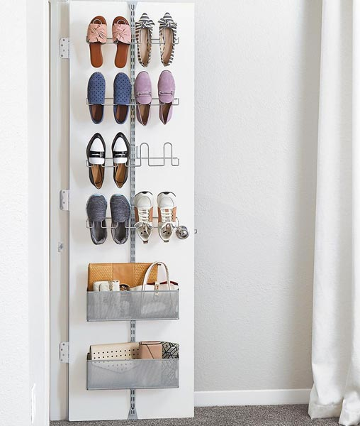 Shoe Organization Hacks: Maximize Your Shoe Storage Space With The Elfa Utility