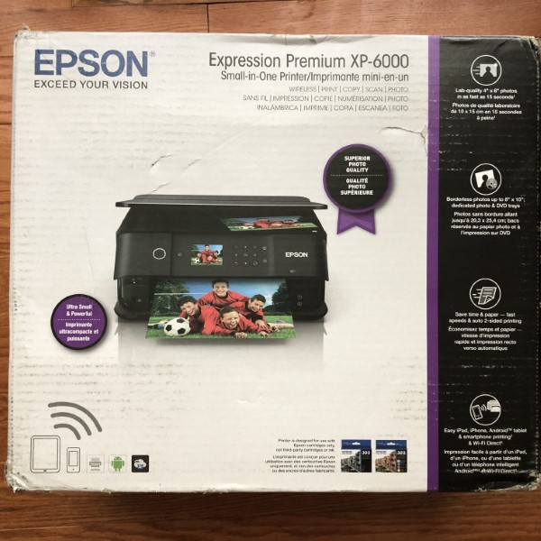 Epson Expression Premium XP-6000 All-In-One Printer review – The