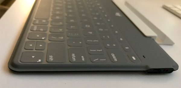Close up shot of Keys-To-Go keyboard