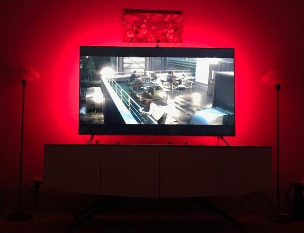 minger smart led tv backlight kit 16