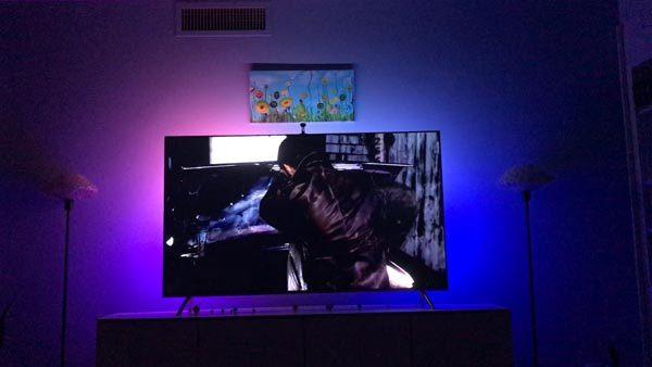 minger smart led tv backlight kit 4