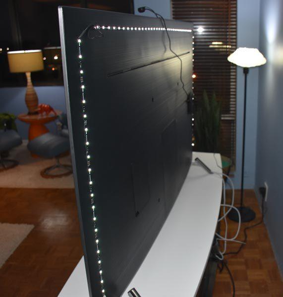 minger smart led tv backlight kit 7
