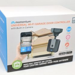Momentum Niro WiFi Garage Door Controller with Built-in Camera review
