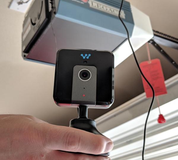 Garage Door Opener Red Light Stays On: Momentum Niro WiFi Garage Door Controller With Built-in