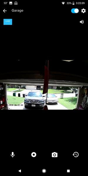 Momentum Niro Wifi Garage Door Controller With Built In