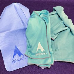 AlphaCool instant cooling towels review