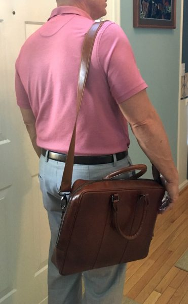 - Burkley LeatherBusinessBriefcase 12 371x600 - Burkley Leather Business Briefcase review – The Gadgeteer