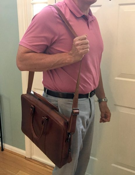 - Burkley LeatherBusinessBriefcase 13 463x600 - Burkley Leather Business Briefcase review – The Gadgeteer