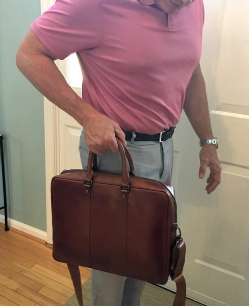 - Burkley LeatherBusinessBriefcase 14 488x600 - Burkley Leather Business Briefcase review – The Gadgeteer