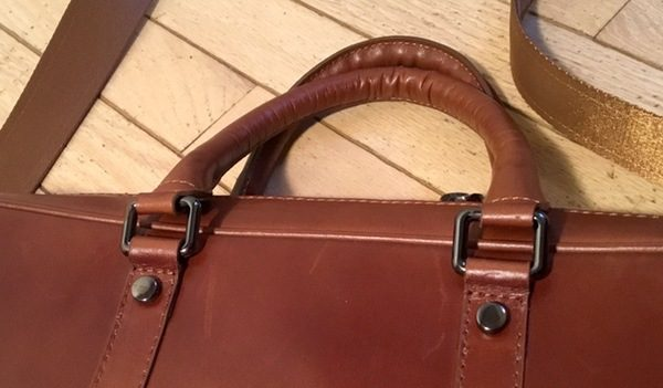 - Burkley LeatherBusinessBriefcase 3 600x351 - Burkley Leather Business Briefcase review – The Gadgeteer