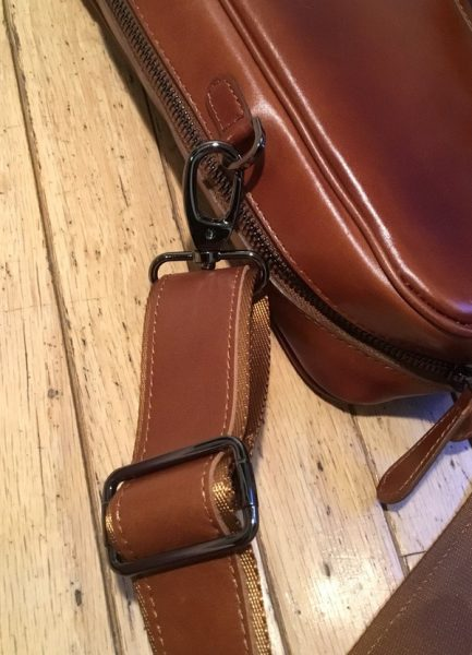 - Burkley LeatherBusinessBriefcase 5 433x600 - Burkley Leather Business Briefcase review – The Gadgeteer