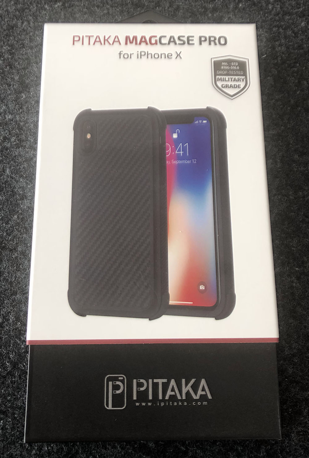 online store 16c06 5ebaa Pitaka Magcase Pro iPhone X case review – The Gadgeteer