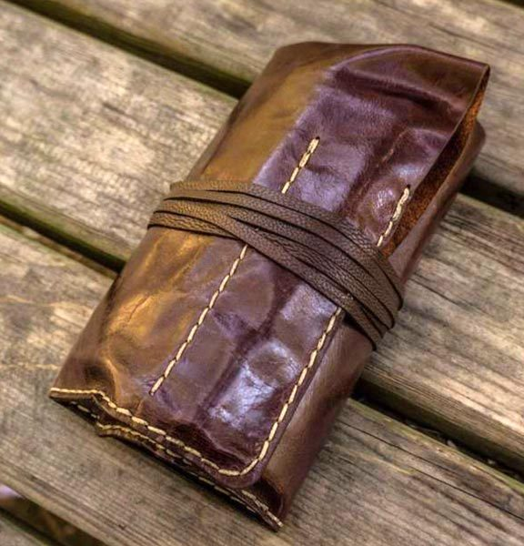 galen leather tool roll 2