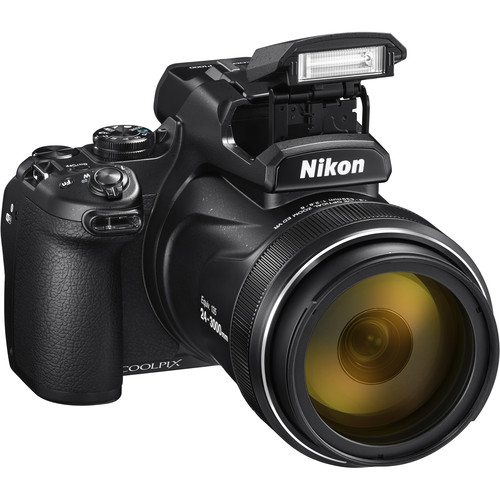 - nikon coolpix p1000 - Nikon's new COOLPIX P1000 lets you photograph a needle in a haystack from 1 mile away