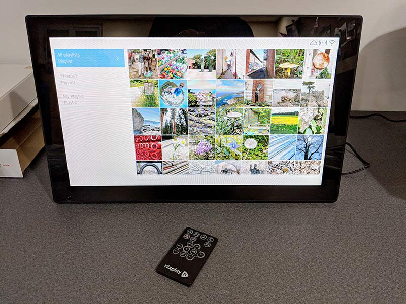 - nixplay cloud frame 15 - Nixplay WiFi Cloud Frame review – The Gadgeteer