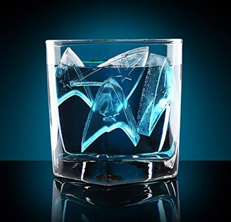 - star trek ice tray 2 - The perfect ice cubes for your Aldebaran whiskey – The Gadgeteer