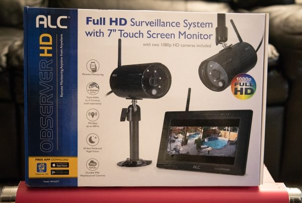 ALC Wireless AWS3377 Full HD 1080p Surveillance System with