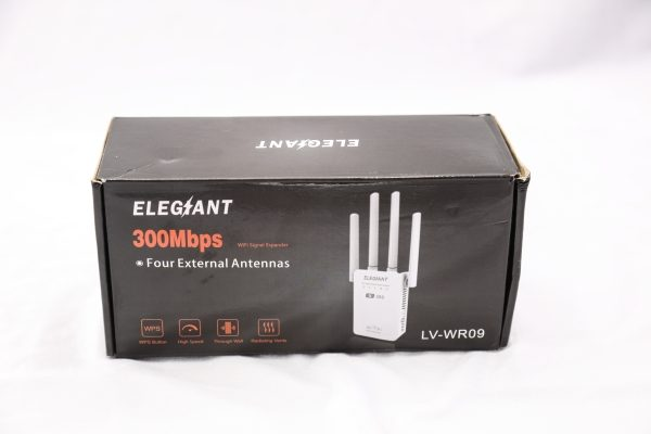 ELEGIANT 300Mbps Wireless Signal Booster WiFi Repeater