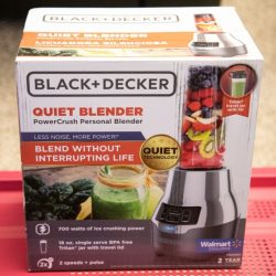 Black & Decker PowerCrush Digital Blender with Quiet Technology review