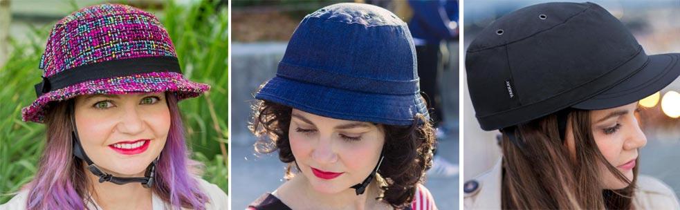 - bike pretty helmet 3 - You'll Bike Pretty with this straw hat bicycle helmet – The Gadgeteer