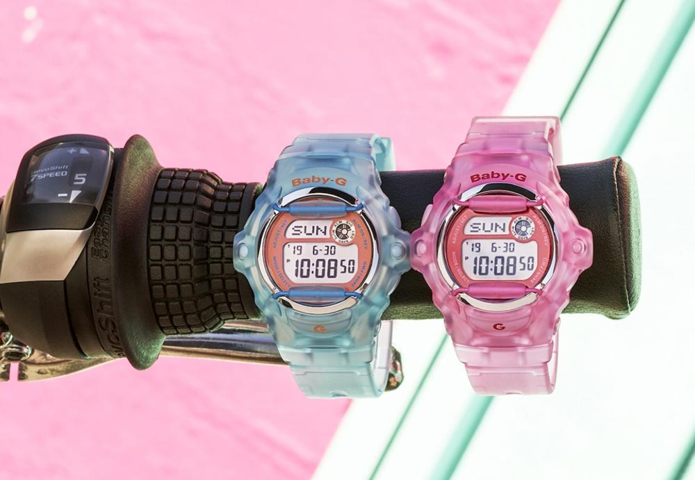 - casio baby g 1 - Casio turns back time with the re-introduction of two Baby-G watches – The Gadgeteer