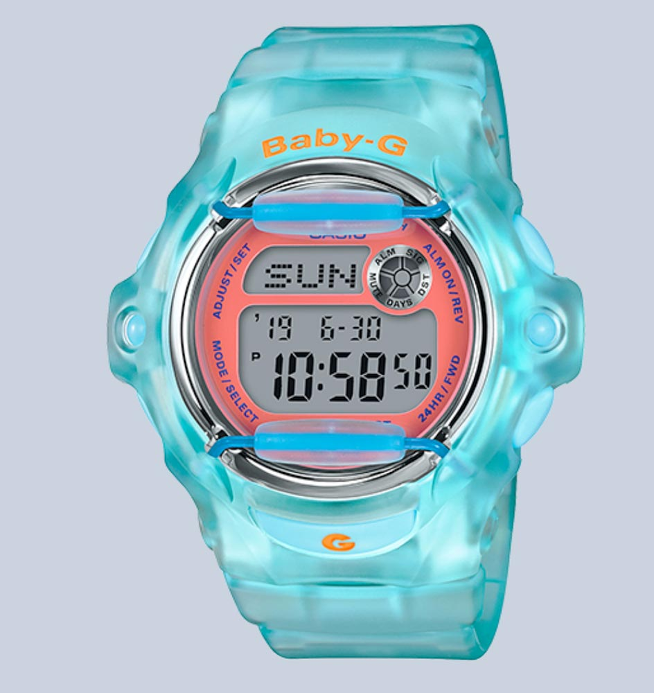 - casio baby g 2 - Casio turns back time with the re-introduction of two Baby-G watches – The Gadgeteer