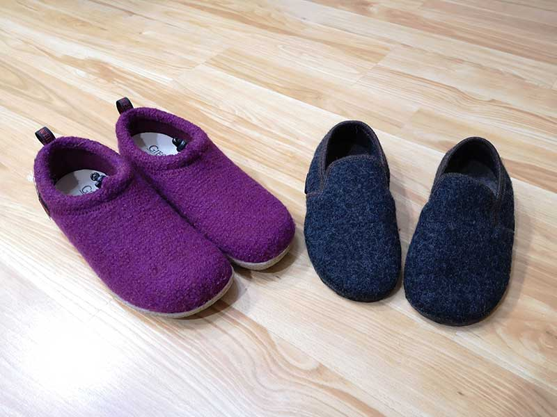 Giesswein boiled wool shoes review – The Gadgeteer