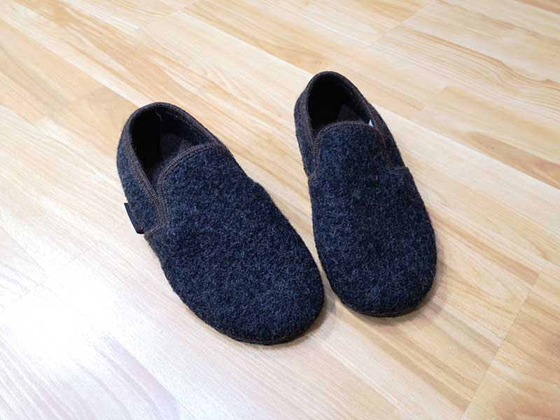 c67006bb7e4f The Andau shoe is a house shoe slipper and has been designed to be worn as  an indoors-only shoe slipper. It only comes in Charcoal and looks more  masculine ...
