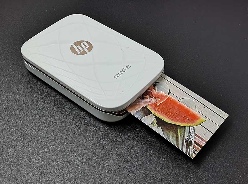 - hp sprocket 12 - HP Sprocket portable photo printer review – The Gadgeteer