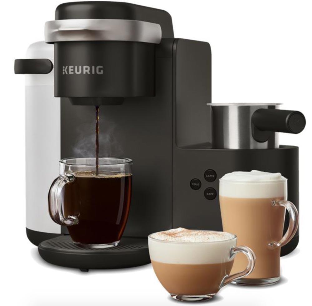 Keurig S New K Caf 233 Is A Single Serve Coffee Latte And