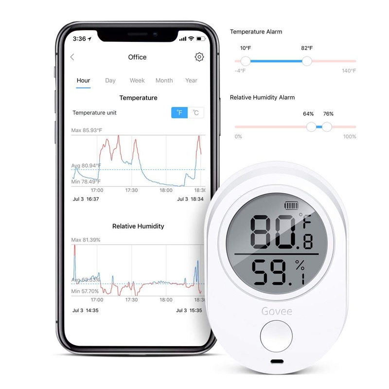 Govee Wireless Thermometer Hygrometer Review The Gadgeteer