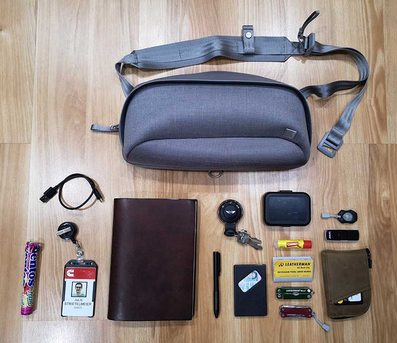 - moshi tego sling 9 - Moshi Tego Slingpack bag review – The Gadgeteer