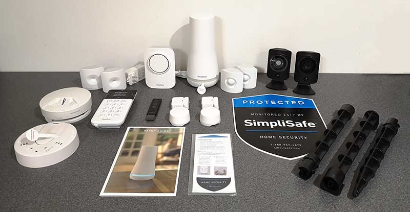 - simplisafe 2018 2 - SimpliSafe home security system review – The Gadgeteer