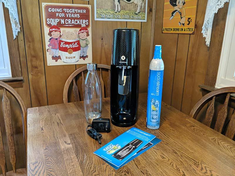 sodastream aquafizz onetouch 2