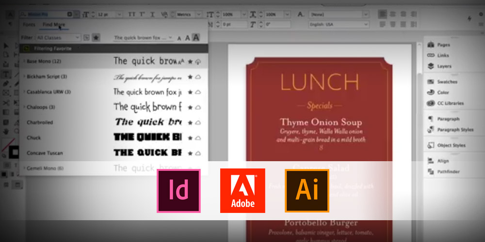 - updated type experience coming to InDesign and Illustrator - Updated type experience coming to Adobe InDesign CC and Illustrator CC – The Gadgeteer