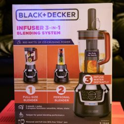 Black & Decker Infuser 3-In-1 Digital PowerCrush Blending System review