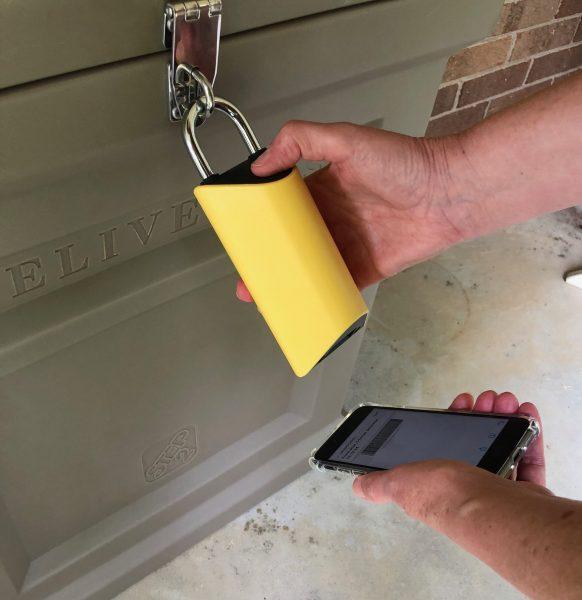 - BoxLock 6 582x600 - BoxLock smart padlock review – The Gadgeteer