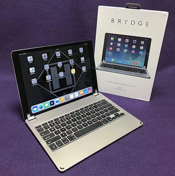 Brydge 12.9 Series II Bluetooth iPad Pro keyboard review ...