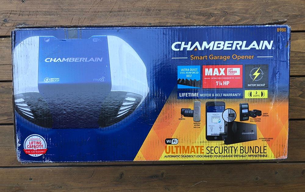 Chamberlain Ultimate Security Bundle Smart Garage Opener Review