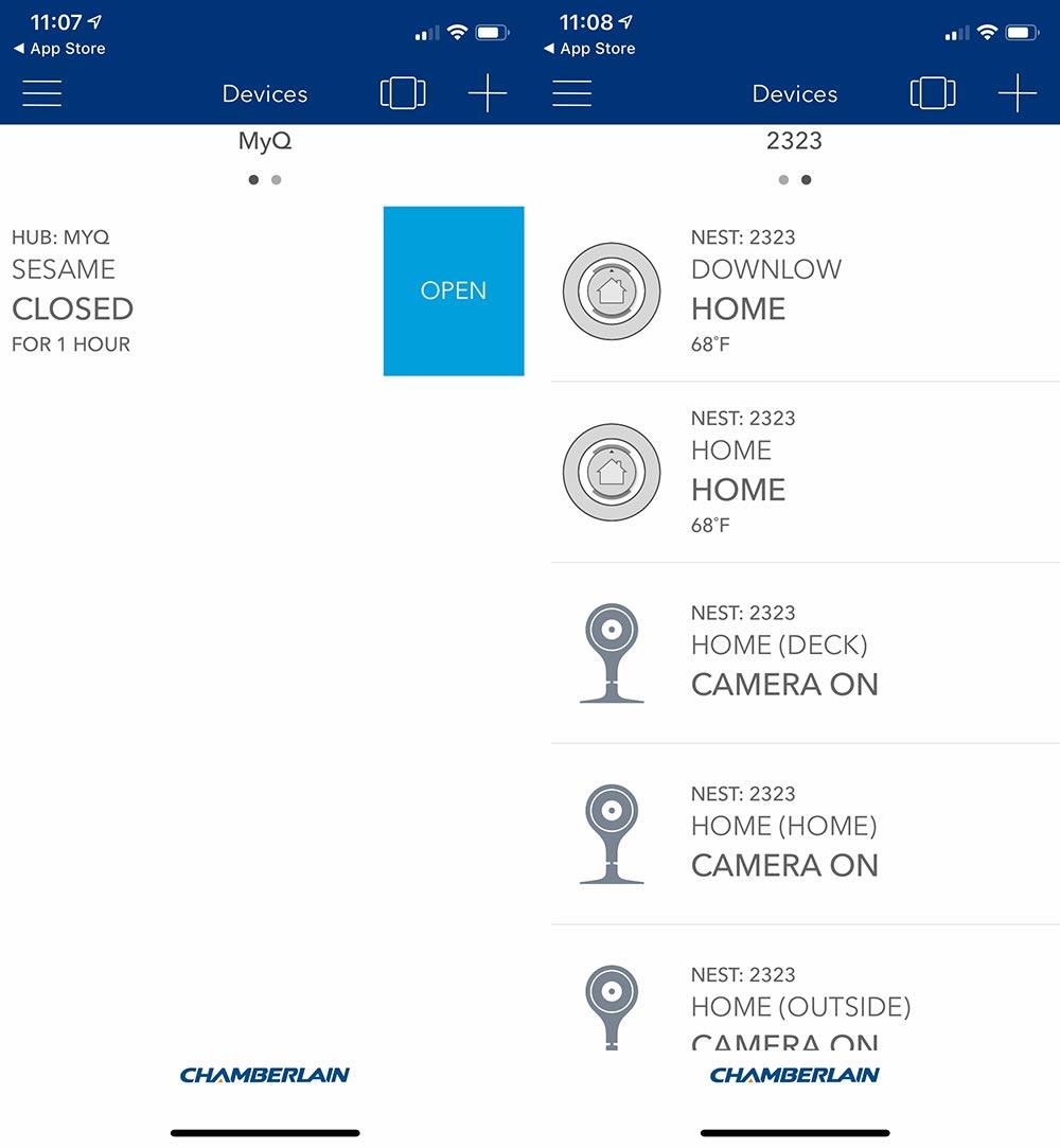 Chamberlain Ultimate Security Bundle smart garage opener