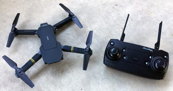 EACHINE E58 RC Pocket Quadcopter Drone review – The Gadgeteer