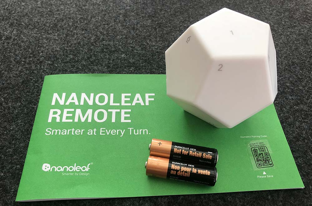- Nanoleaf Remote 02 - Nanoleaf remote review – The Gadgeteer