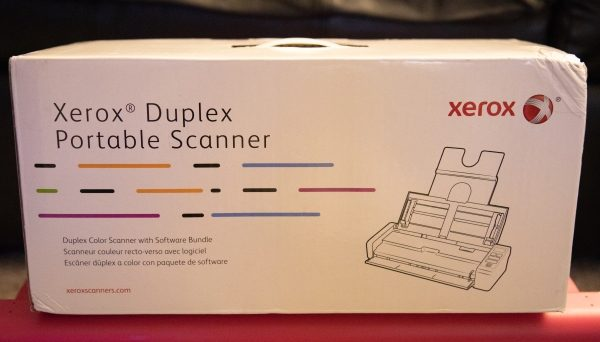 Xerox Duplex Portable Scanner review – The Gadgeteer