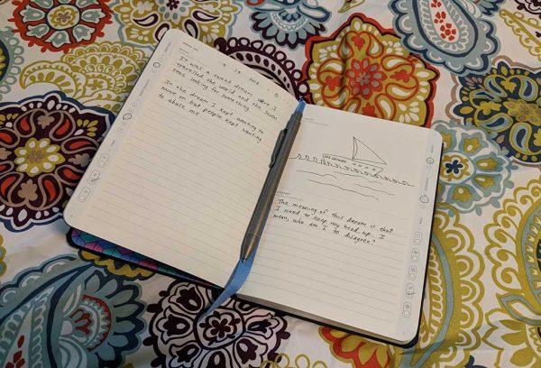 baronfig wander dream journal 100