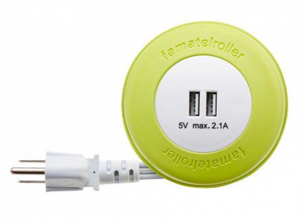 This Extension Cord Makes Charging Your Device Easier While On The
