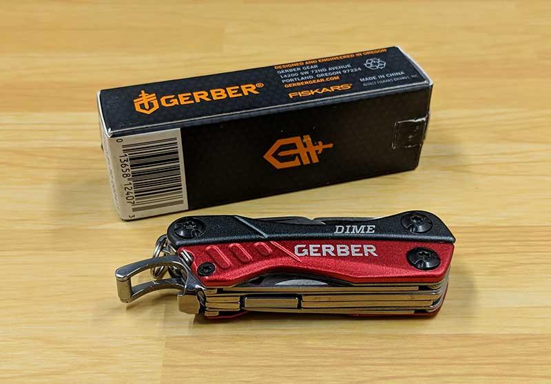 - gerber dime 1 - Gerber Dime multi-tool review – The Gadgeteer