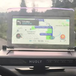 Hudly Wireless heads-up display review