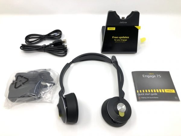 Jabra Engage 75 Stereo Headset Review The Gadgeteer