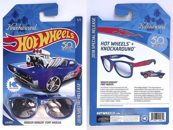 "c58a064c96 Knockaround Hot Wheels 50th Anniversary ""Rodger Dodger"" Fort Knocks ..."