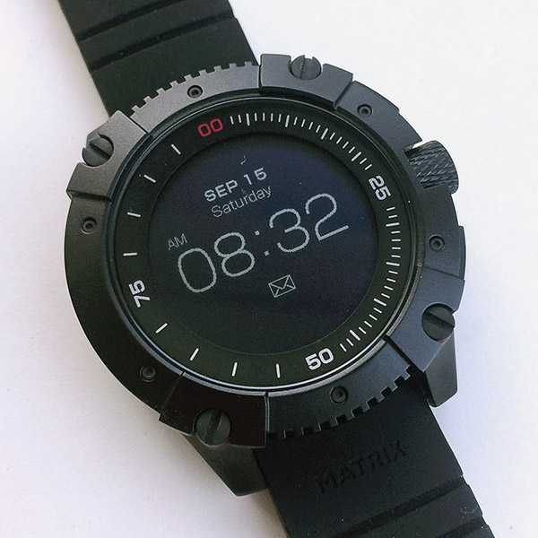 Matrix powerwatch x review the gadgeteer for Matrix powerwatch